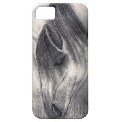 Paso Fino Horse Drawing  cell Phone Case