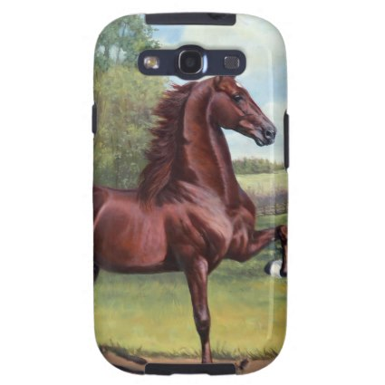 American Saddlebred Samsung Galaxy Phone Case